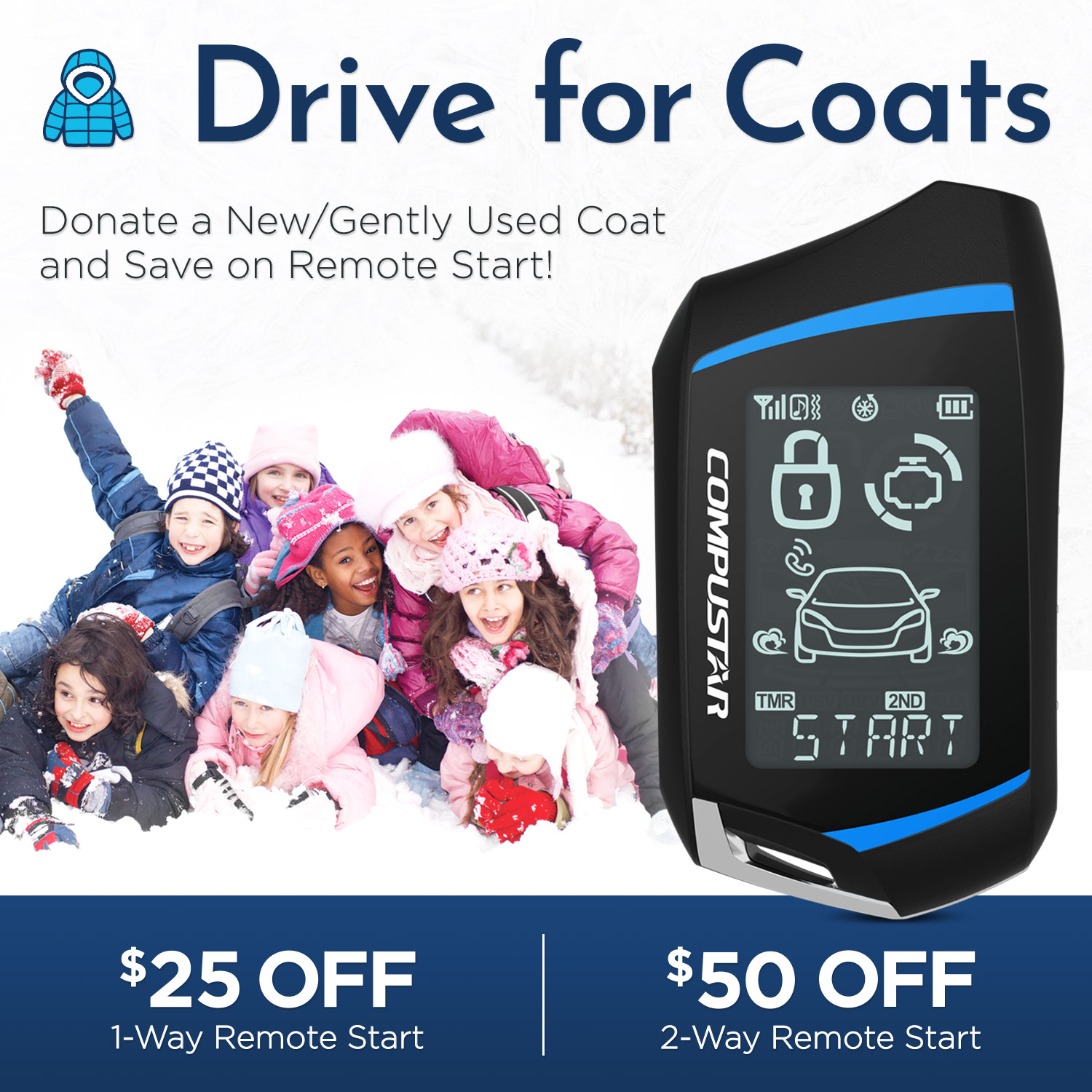 In Action Drive for Coats