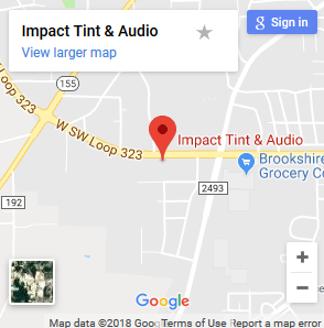 Impact Tint and Audio Google Maps